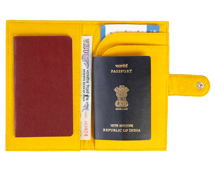 Travel Wallets - Yellow