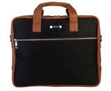 Artilea Laptop Bag - SA9026PFSRB - Black & Tan