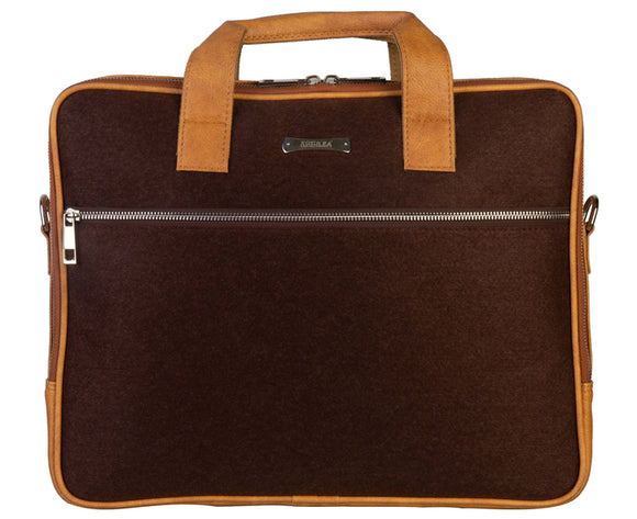 Laptop Bag - SA9026PFSRB - Brown & Sunkissed