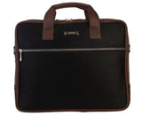 Artilea Laptop Bag - SA9026PFSRB - Black & Dark Brown
