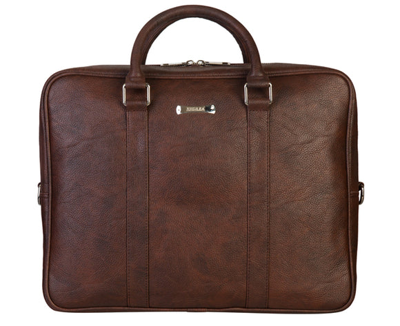 Laptop Bag - SA9035SR - Brown Texture Brown Laptop Bag Artilea