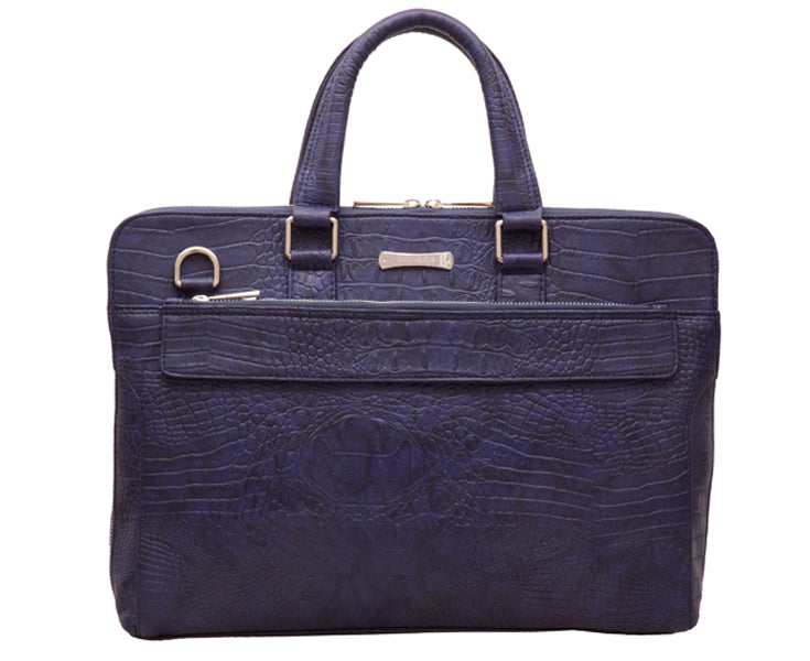 Artilea Laptop Bag - Blue rough scaly pattern bag