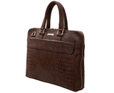 Artilea Laptop Bag - Faux Crocodile Leather look