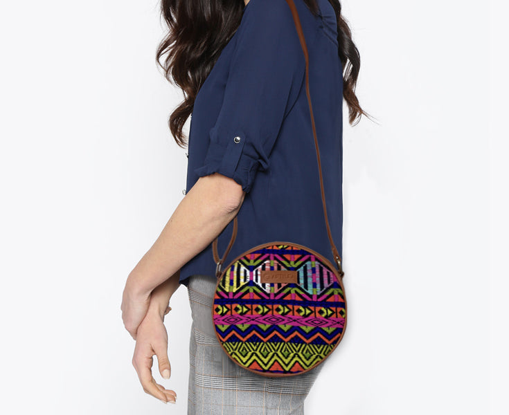 Artilea Ikkat Sling Bag - Tribal