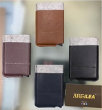Artilea Cardomatic - Automatic retreival card holder - Genuine Leather and Art Leather