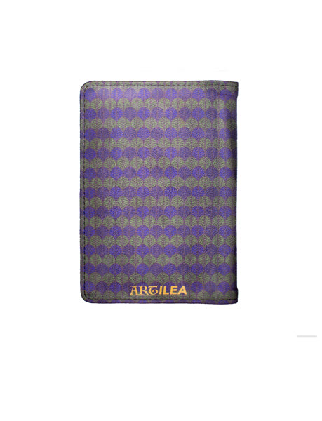 Traditional Print - Personalized Passport Cover - Suede - Artilea Passport Cover