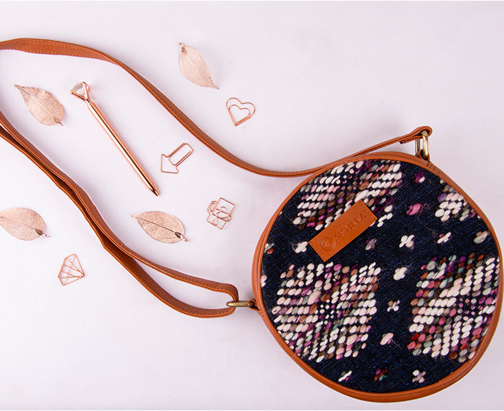 Artilea Ikkat Sling Bag - Abstract