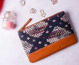 Artilea Ikkat Pouches - Abstract
