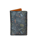 Wonderful World - Personalized Passport Cover - Suede Printed