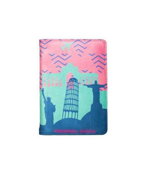 Wonders of the World - Personalized Passport Cover - Suede - Artilea Passport Cover