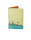 Yellow World - Personalized Passport Cover - Suede Printed - Artilea