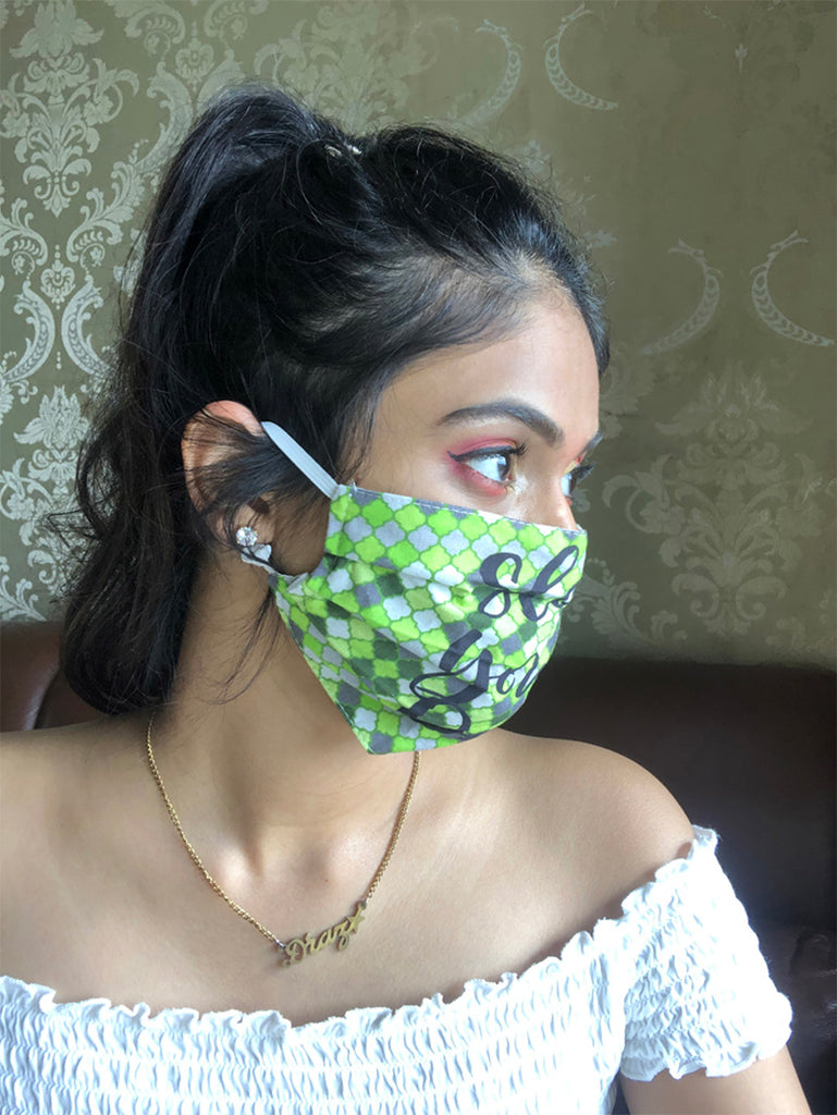 Artilea Printed Cotton Mask - SA9105-28