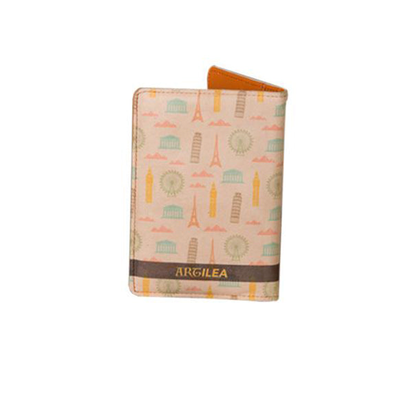 Classy Wanderer - Personalized Passport Cover - Suede Printed