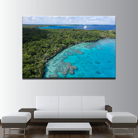 Image of Island Holiday-1 Panel-Canvas Bros