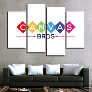 Custom Canvas - 4 Panel (Your Design)-4 Panel-Canvas Bros