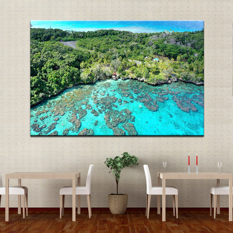 Island Reef Getaway-1 Panel-Canvas Bros