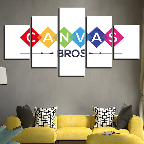 Image of Custom Canvas - 5 Panel (Your Design)-5 Panel-Canvas Bros