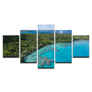 Island Holiday-5 Panel-Canvas Bros