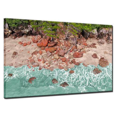 Image of Aussie Red Rocks-1 Panel-Canvas Bros