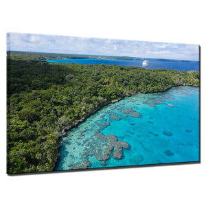 Island Holiday-1 Panel-Canvas Bros