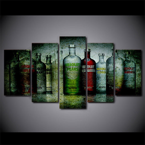 Vodka Anyone?-5 Panel-Canvas Bros