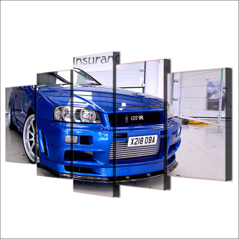 Image of Nissan GT-R 34-5 Panel-Canvas Bros