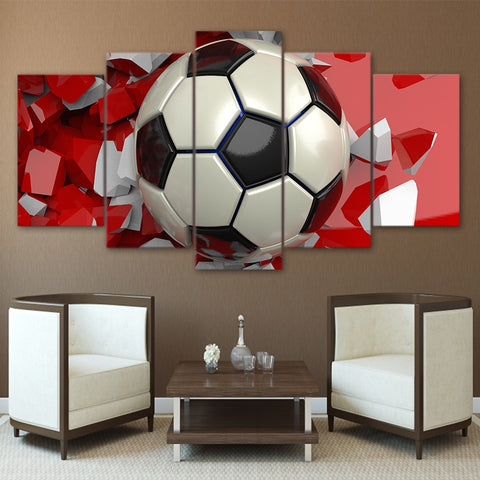 Soccer Ball-5 Panel-Canvas Bros