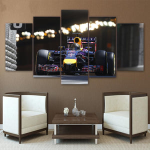 Formula 1 Racing-5 Panel-Canvas Bros