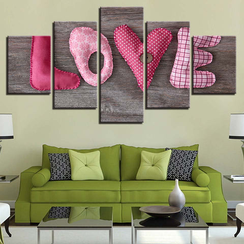 Cushy Love-5 Panel-Canvas Bros