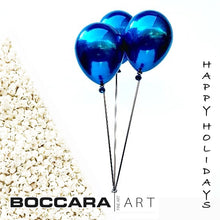 "Load image into Gallery viewer, ""Blue Balloons & Stool"" by Jeon Kang Ok - BOCCARA ART Online Store"
