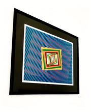 "Load image into Gallery viewer, Original Hand-signed and numbered Lithograph ""Optical Emotion"" by Ferruccio Gard - BOCCARA ART Online Store"