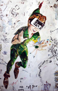 """Virtual Reality"" from ""Neverland Series"" by Dasha Usova - BOCCARA ART Online Store"