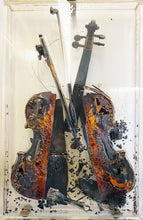 "Load image into Gallery viewer, ""Colère de Paganini"" by Arman - BOCCARA ART Online Store"