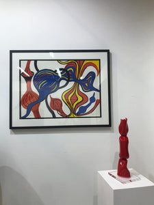 "Lithograph ""Les Oignons"" by Alexander Calder - BOCCARA ART Online Store"