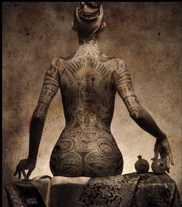 """Tattoo"" from the famous ""Sensuality"" Series by Vladimir Clavijo - BOCCARA ART Online Store"