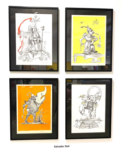 Set of four Lithographs by Salvador Dalí - BOCCARA ART Online Store