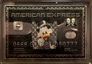 "Legendary ""American Express"" by Edery, Pop Art - BOCCARA ART Online Store"