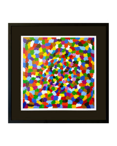 "Original Hand-signed and numbered Lithograph ""Chromatic Energies"" by Ferruccio Gard - BOCCARA ART Online Store"