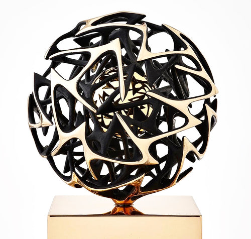 Kinetic Bronze Sculpture