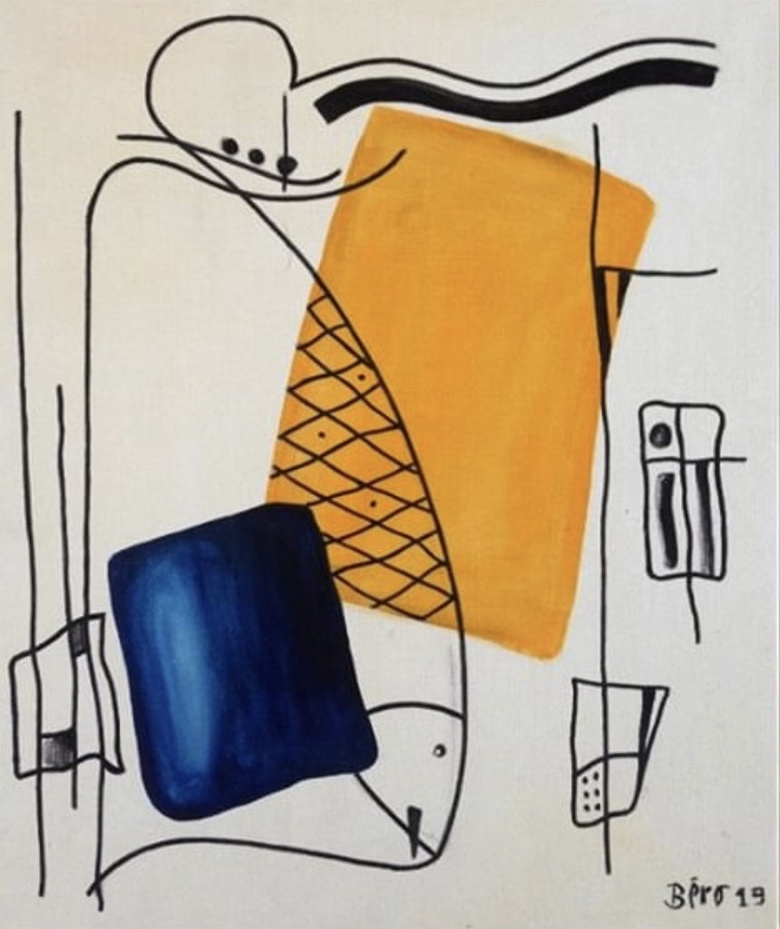 Contemporary Tapestry, designed by Alain Beraud - BOCCARA ART Online Store