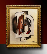 "Load image into Gallery viewer, ""Portrait of Fernand"" by Alain Beraud - BOCCARA ART Online Store"
