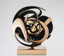 "Load image into Gallery viewer, Beautiful Kinetic Bronze sculpture ""Altair"" by Gianfranco Meggiato - BOCCARA ART Online Store"
