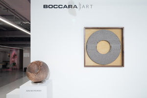 Wall sculpture made from coins by Kim Seungwoo for BOCCARA ART - BOCCARA ART Online Store
