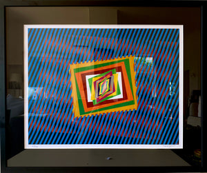 "Original Hand-signed and numbered Lithograph ""Optical Emotion"" by Ferruccio Gard - BOCCARA ART Online Store"