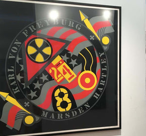 "Lithograph ""The Hartley Elegies: The Berlin Series"" by Robert Indiana - BOCCARA ART Online Store"