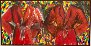 """Anderson and Shepard"" by Jim Dine"