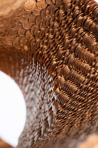 "Kinetic sculpture made from coins ""Circle VII"" by Kim Seungwoo for BOCCARA ART - BOCCARA ART Online Store"