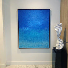 "Load image into Gallery viewer, ""Ocean Blue"" by Hyun Ae Kang - BOCCARA ART Online Store"
