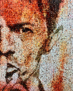 "Print on aluminum ""David Bowie"" by a legendary photographer Robin Austin - BOCCARA ART Online Store"