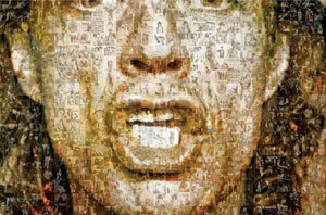 """Your Majesty. Mick Jagger"" by Robin Austin - BOCCARA ART Online Store"